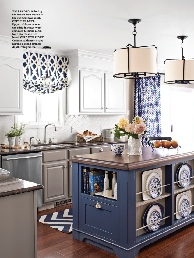 kitchen makeover featured in kbmo spring 2014 designed by jenna burger produced by donna - Homes And Gardens Kitchens