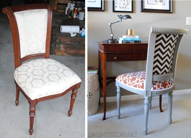 How-To reupholster a chair {easy to follow tutorial}