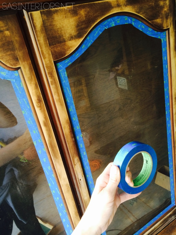 China Cabinet Makeover: How-To Prep and Sand Wood Furniture {easy to follow tutorial - multiple blog posts to explain how easy it is}