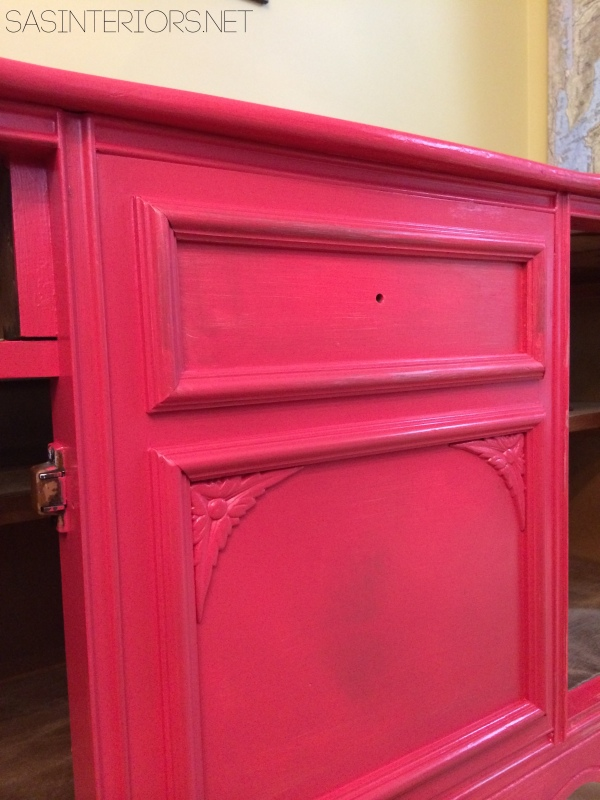 DIY Tutorial: tips + tricks on How-To Successfully Paint Wood Furniture. Follow along on this multi-post blog series of transforming a china cabinet. Easy-to-follow directions and all the steps fully explained!