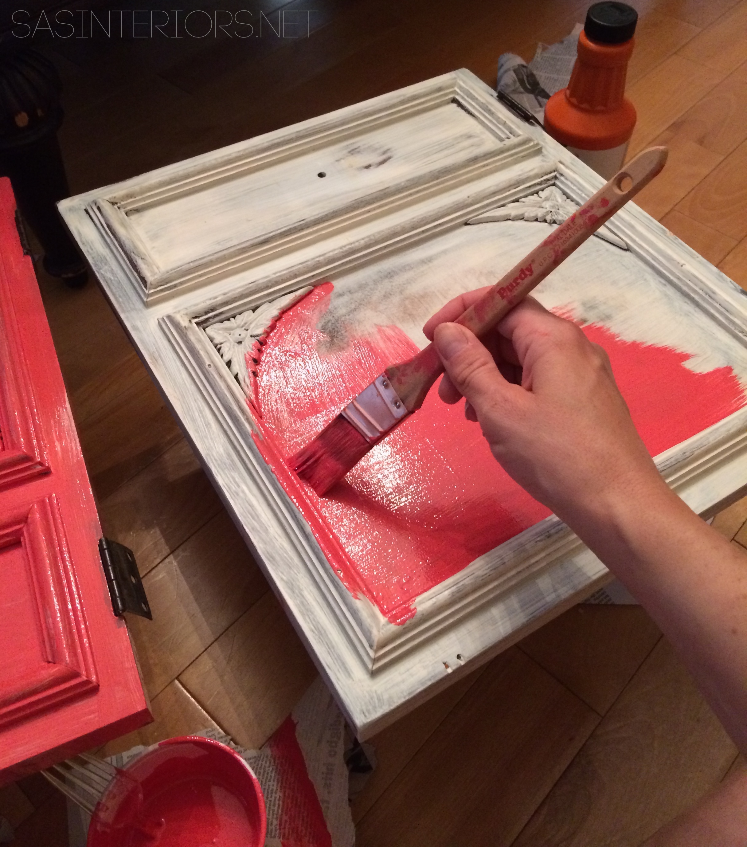 How To Paint Wood Furniture Jenna Burger Design Llc