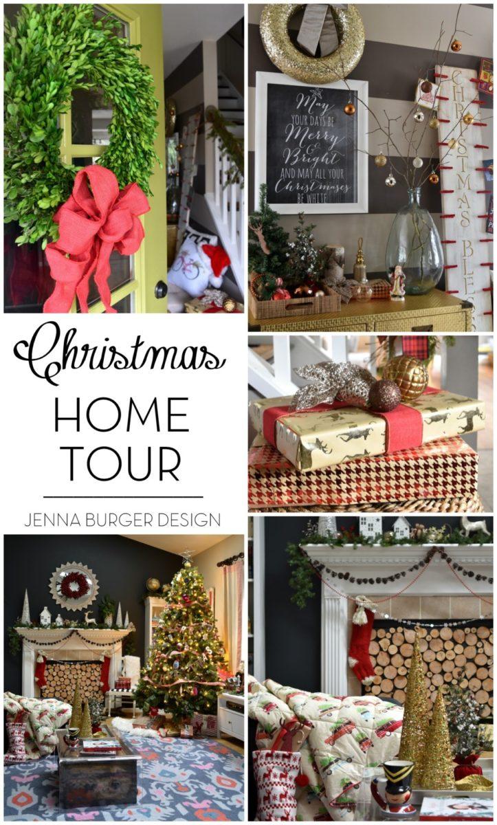 Christmas Home Tour - JENNA BURGER DESIGN