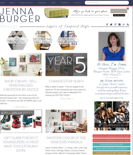 New Site - JennaBurger.com