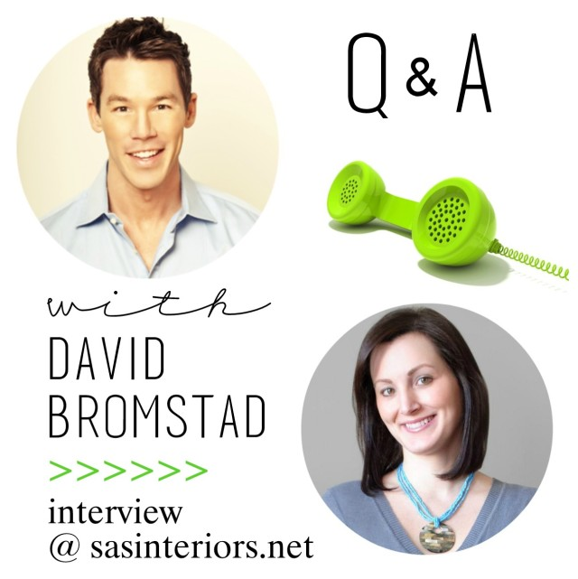 My chat with David Bromstad