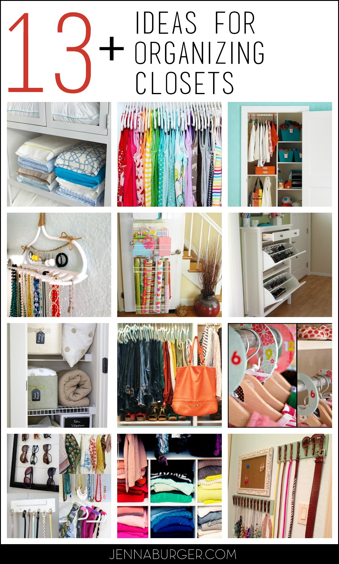 13 Organizational Ideas For Closets Tips Tricks To Help Organize Every All Types