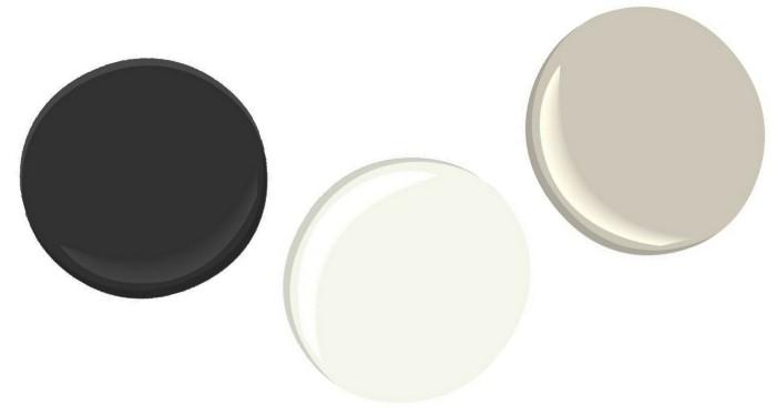 Proposed living room color palette