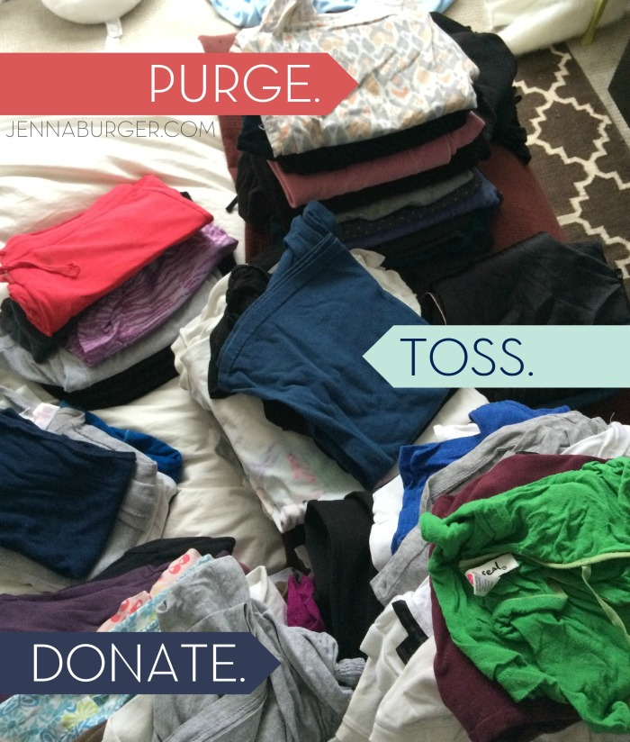PURGE. TOSS. DONATE. 6 Foolproof Home Organizational Tips that will get you pointed in the right direction NOW!