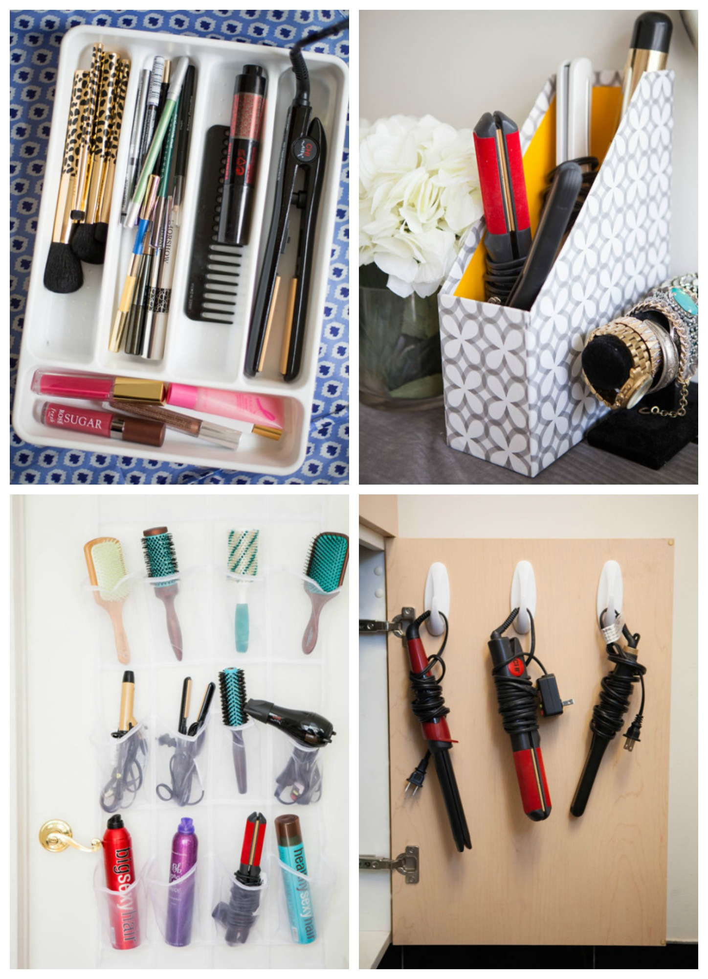 Bathroom organizers ideas - Organizing For The Home 30 Ideas Tips Tricks To Help Organize Bathroom Storage Ideas Via Cosmopolitan