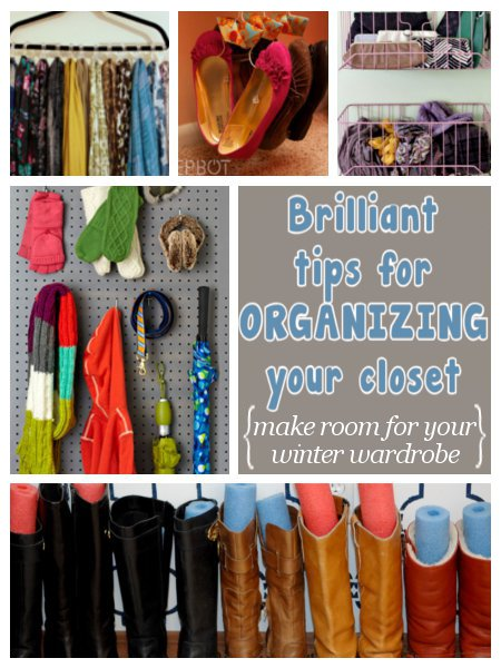 13 closet organizing ideas combat the closet clutter Diy wardrobe organising ideas