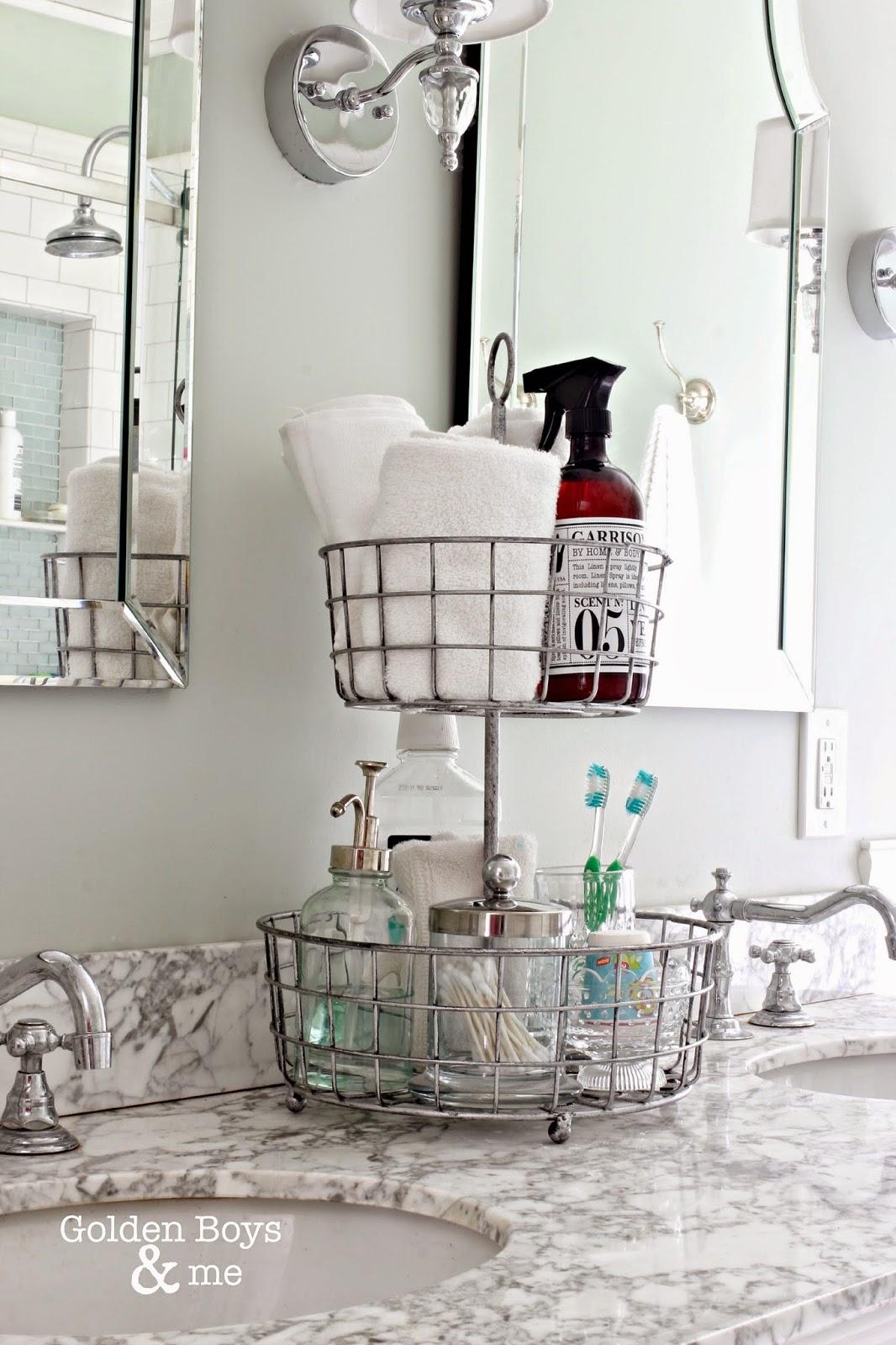 bathroom caddy ideas