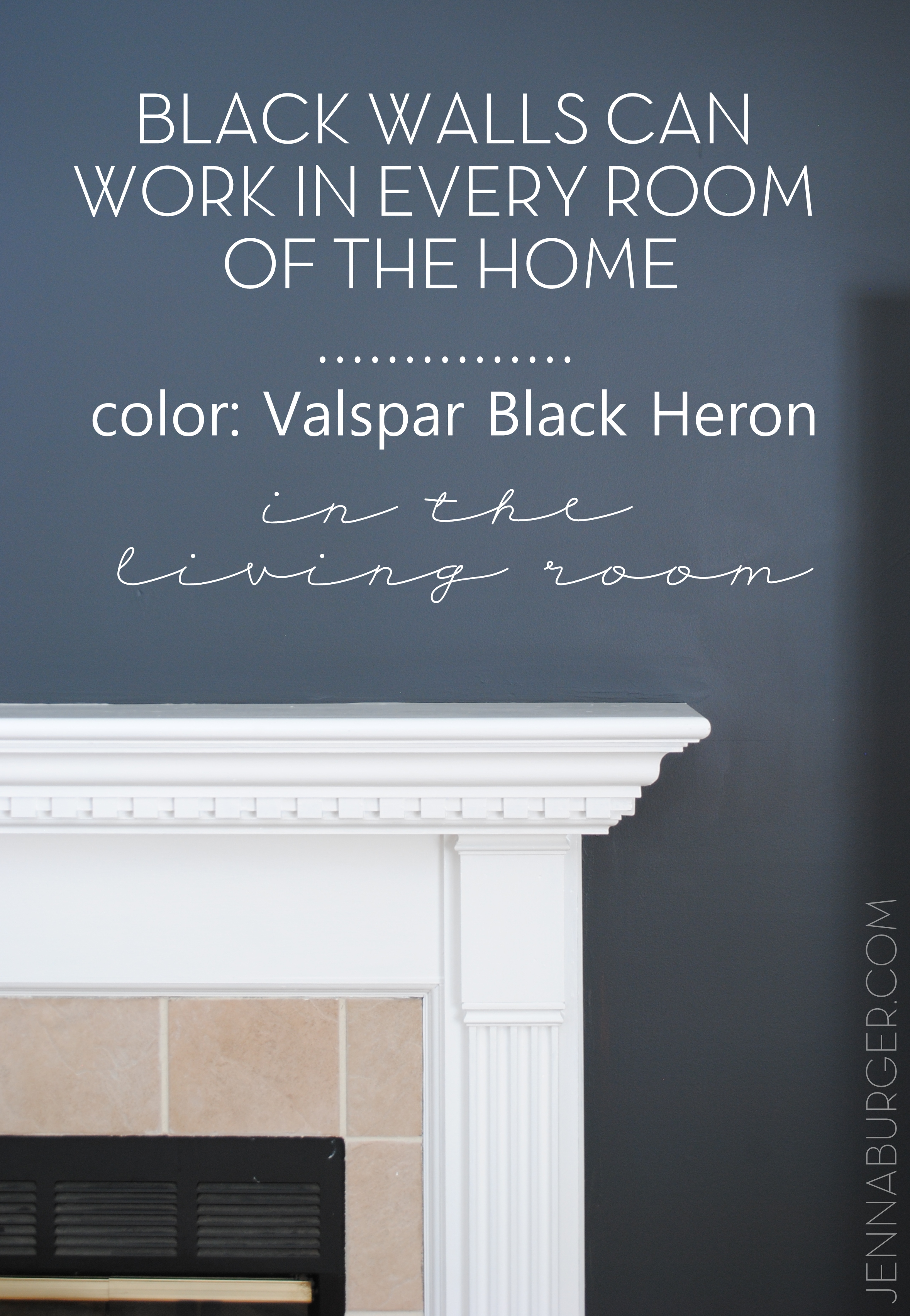 Black Is Bold Neutral HOW TO MAKE BLACK WALLS WORK In Every