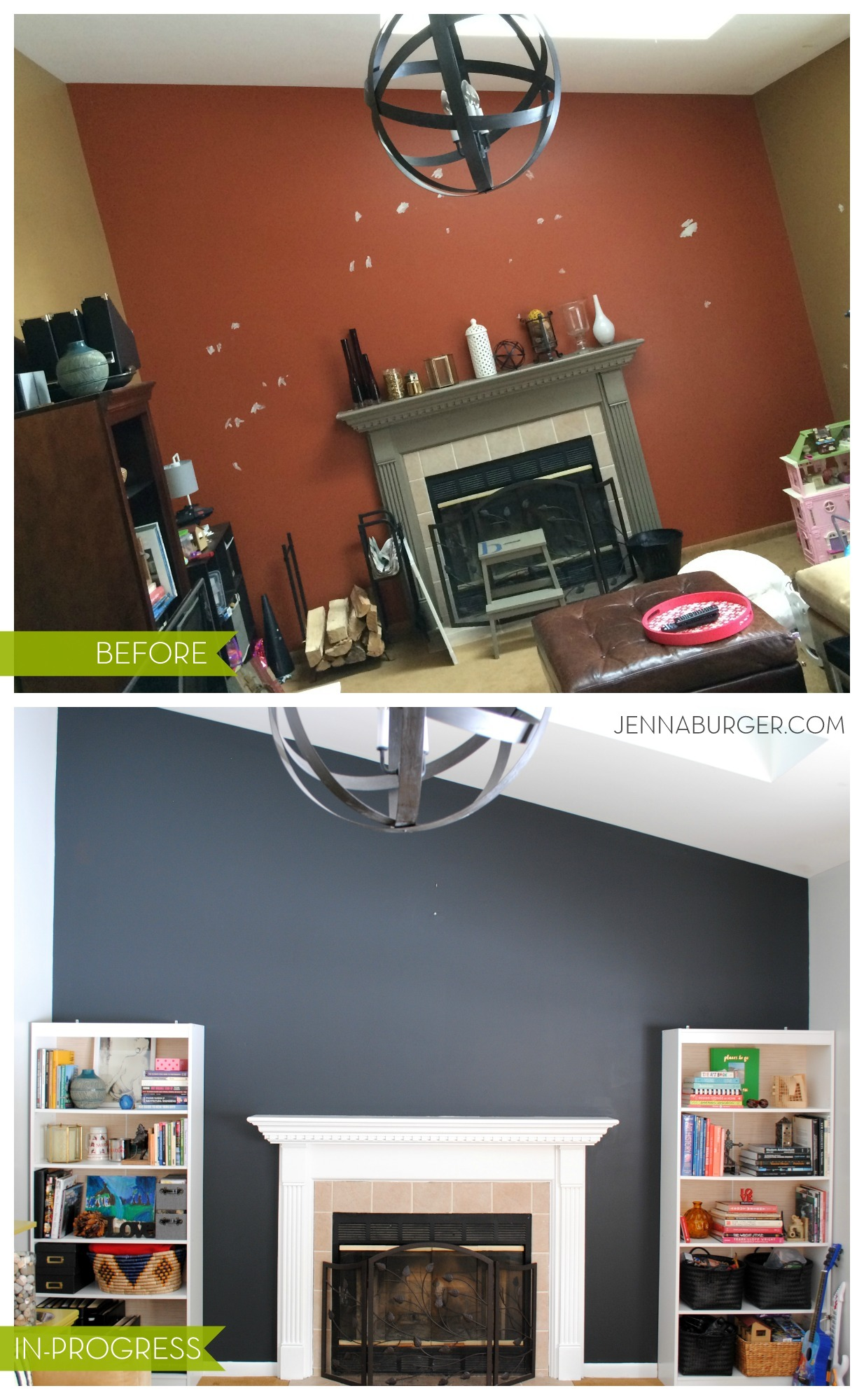 Is Black A Neutral Color top paint colors for black walls + painting a black wall in the