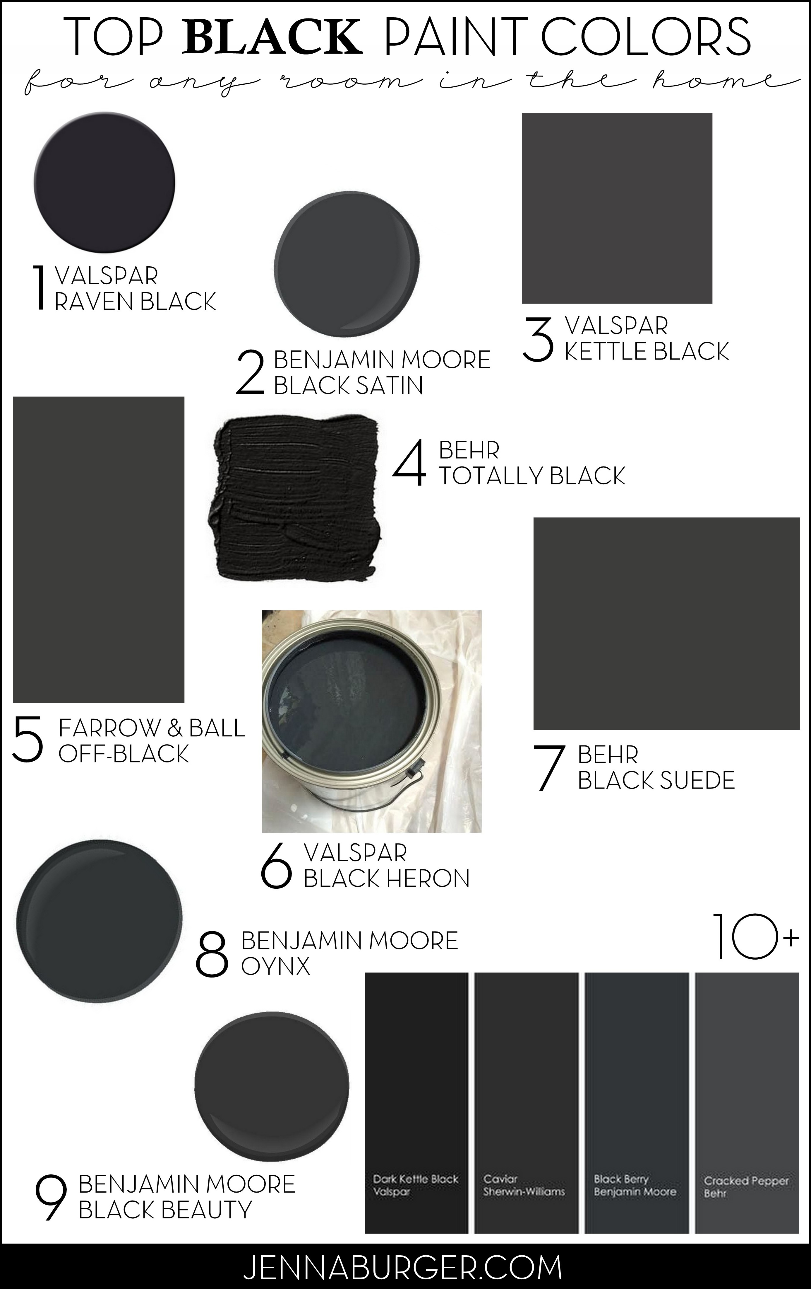 Top paint colors for black walls painting a black wall in the living room jenna burger Best paint for interior walls