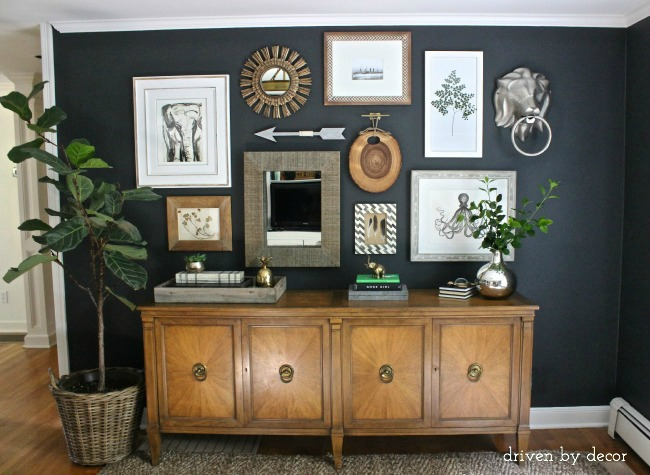 HOW TO MAKE BLACK WALLS WORK In Every