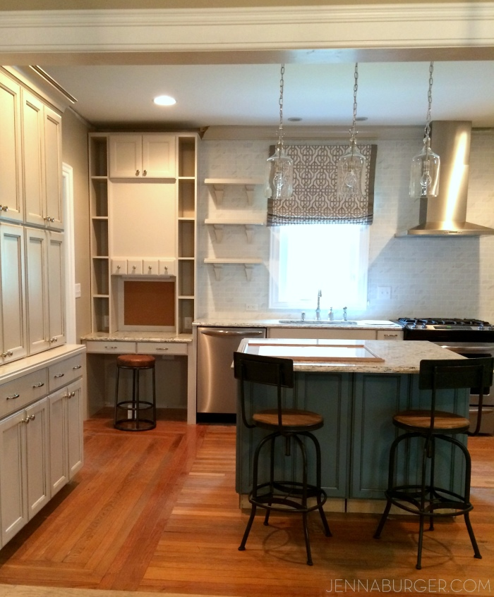 Pictures of the kitchen featured on the Spring 2015 cover of Kitchen + Bath Makeovers magazine