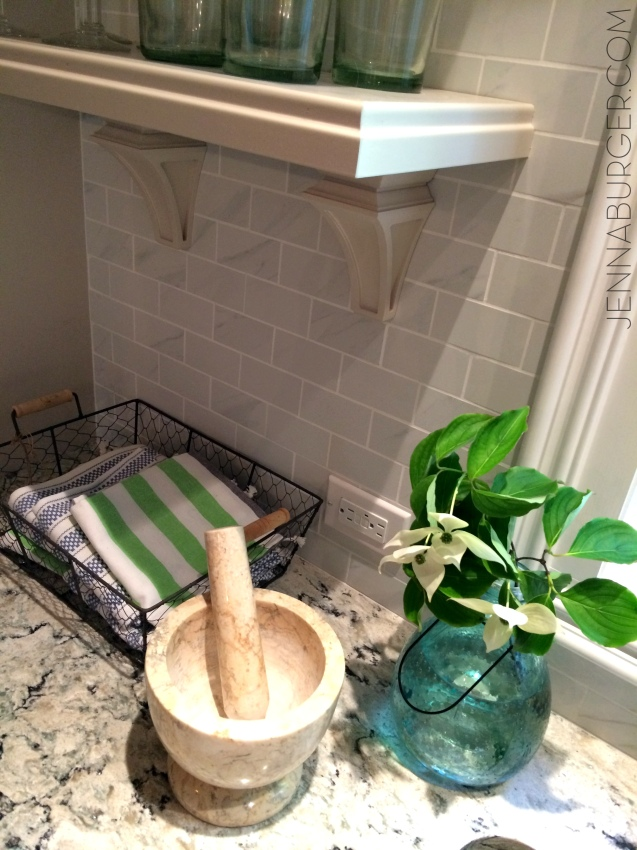 Behind the scenes of the Kitchen featured on the Spring 2015 cover of Kitchen + Bath Makeovers magazine