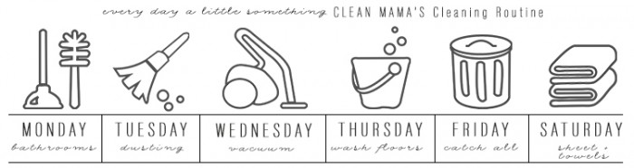 Create a cleaning routine