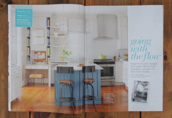Behind the Scenes + Details of the kitchen featured on the Spring 2015 cover of Kitchen + Bath Makeovers magazine