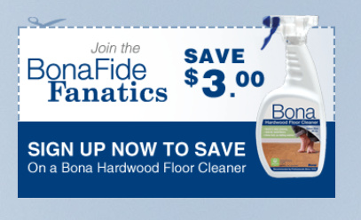 $3 off coupon for Bona floor products