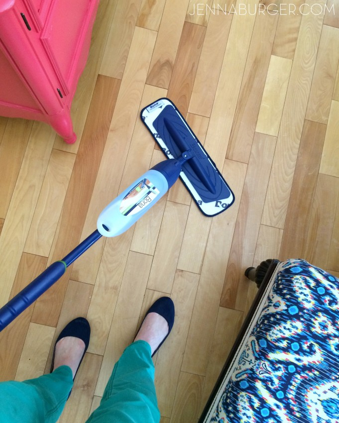Clean the floors - one of many Tips + Tricks + Secrets to make a house feel instantly clean (and showroom ready)! It only take a few minutes a day...