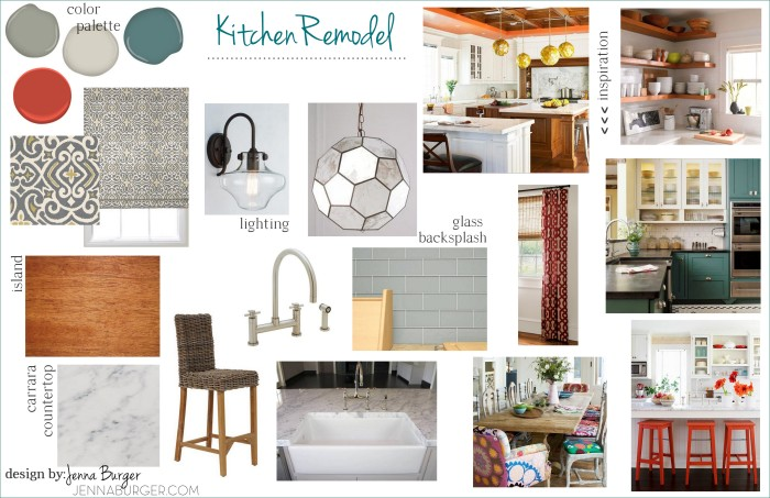 Mood Board for Kitchen Makeover