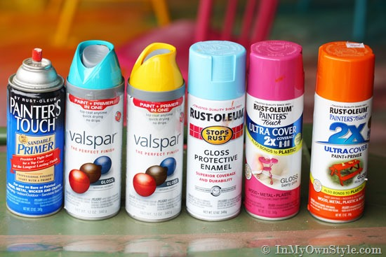 5 surfaces to spray paint jenna burger Spray paint for wood furniture