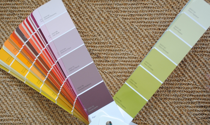 Choosing a new paint color for the front door