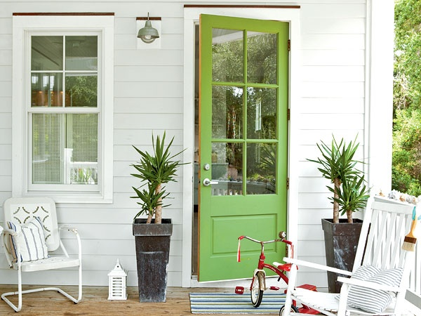 Green Door Inspiration
