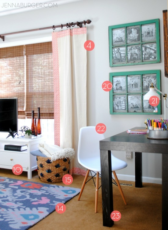 Living Room Makeover Resources Jenna Burger