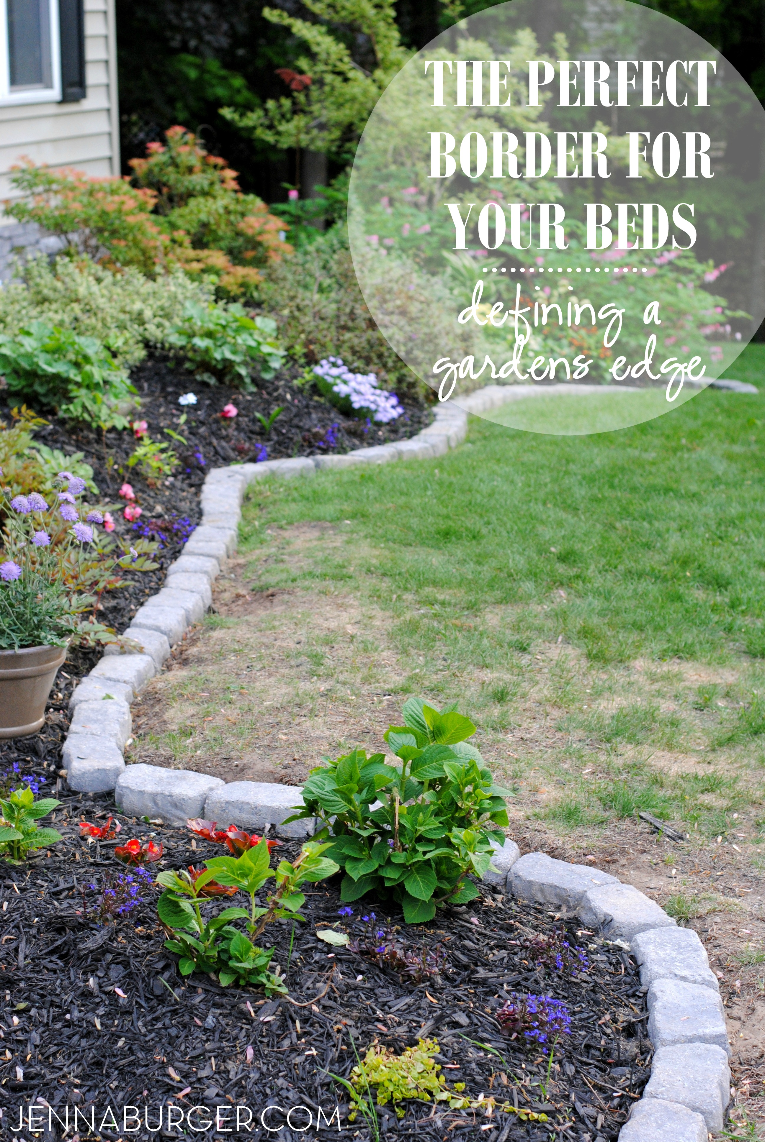 Delicieux The Perfect Border For Your Beds: Defining A Gardens Edge With Inexpensive  Stone That Fit