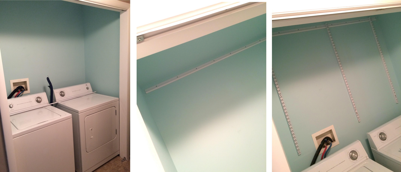 """laundry room """"closet"""" {reveal} - jenna burger Laundry Room Closet"""