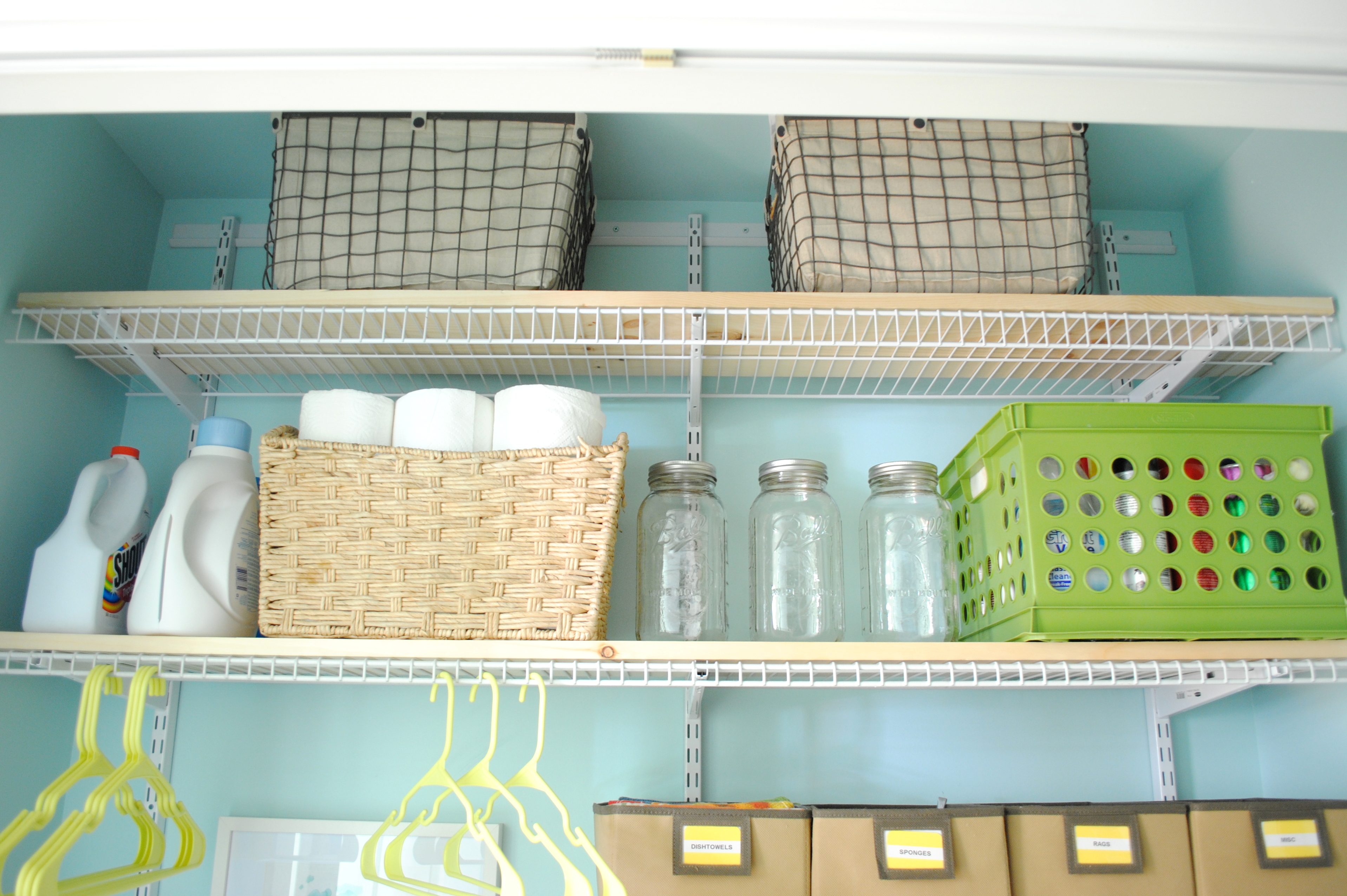 Laundry Room Closet Reveal Jenna Burger