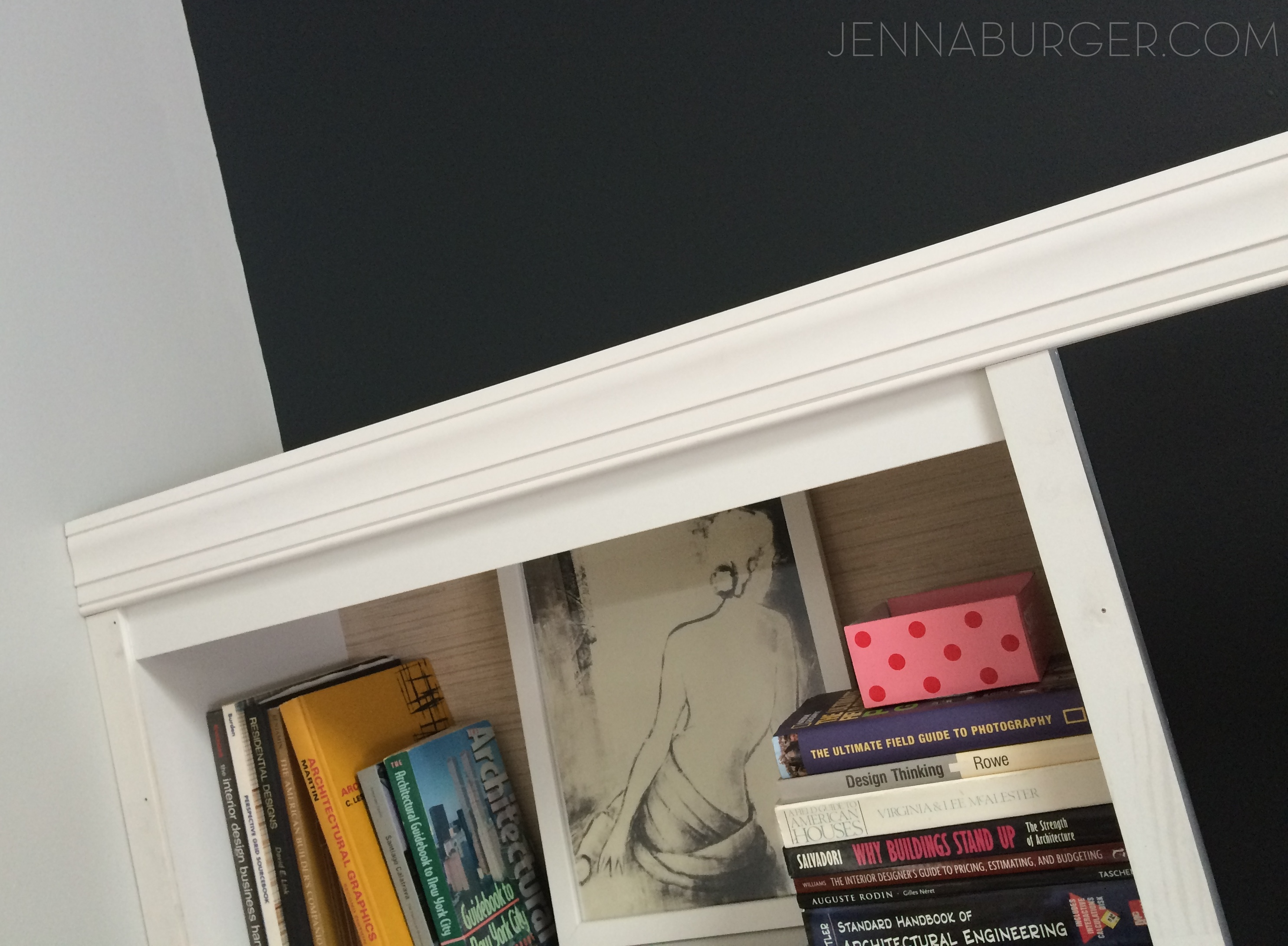 Diy Tutorial How To Make A Laminate Bookcase Look Like Custom Built