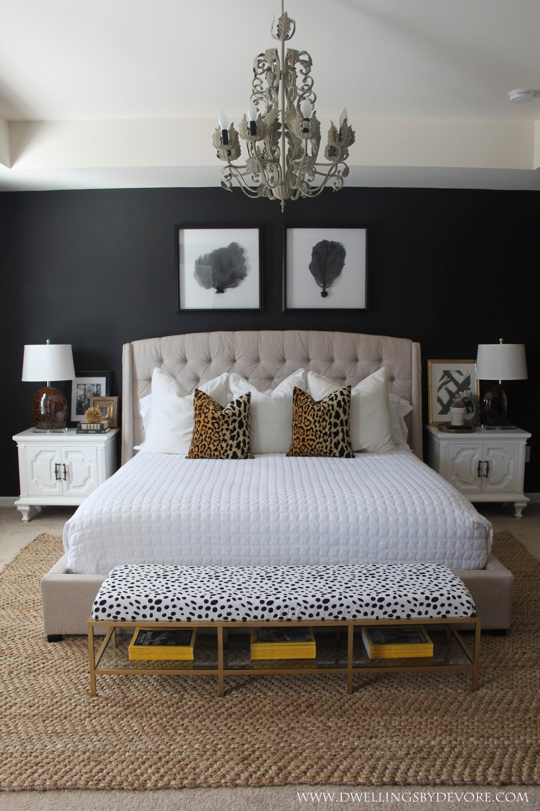 Black Bedroom Makeover By Dwellings Of Devore