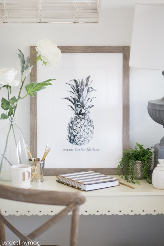 Pineapple Art Print for free by Just Destiny