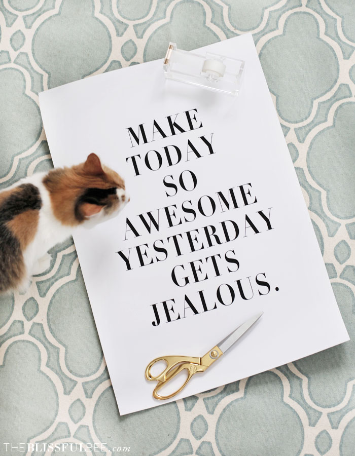 Make Today Awesome quote