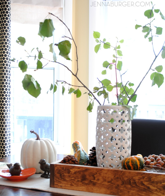 Fall Tablescape: More Decorating ideas for the Home using Fall Favorites.