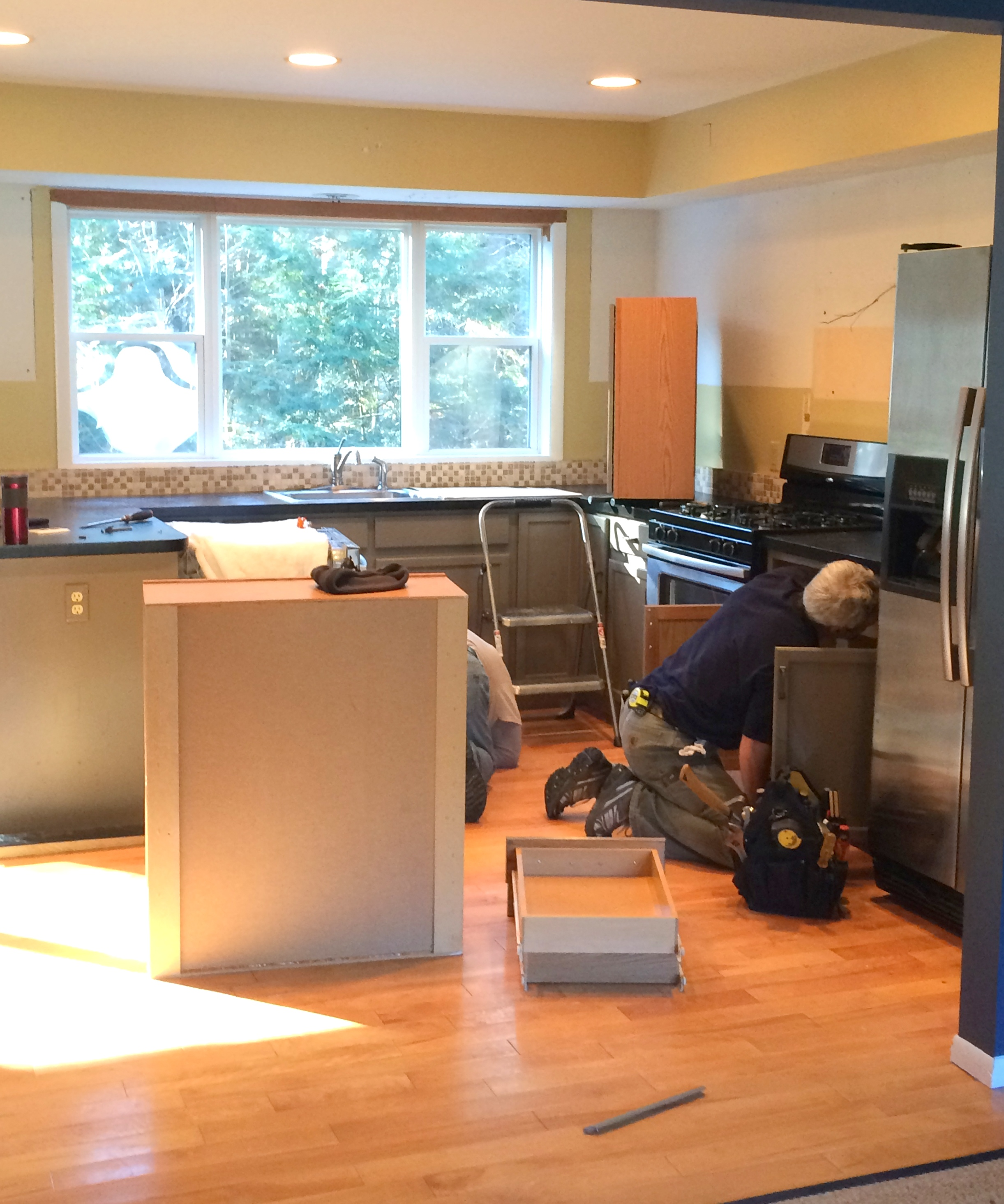Demo Day: Steps To Demolishing An Existing Kitchen + Creating A New  Renovated Space.