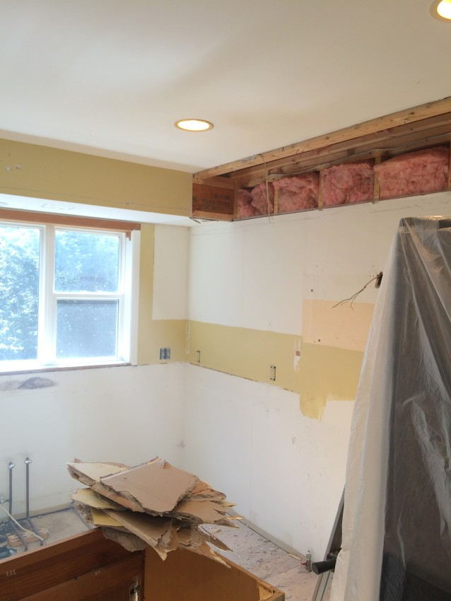 Demo Day: Steps to Demolishing an Existing Kitchen + Creating a new renovated space. Remodel by www.jennaburger.com