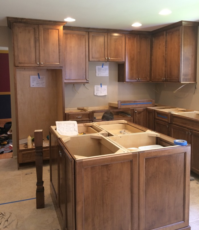 In-Progress of Kitchen Renovation