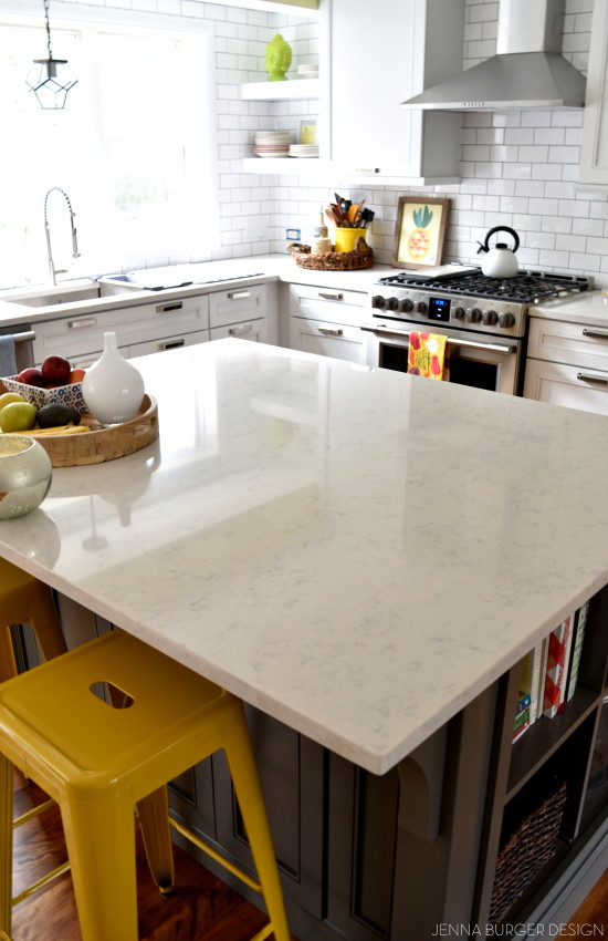How To Choose the Right Countertop for Your Kitchen! Pros + Cons + Advice for countertop materials by www.jennaburger.com