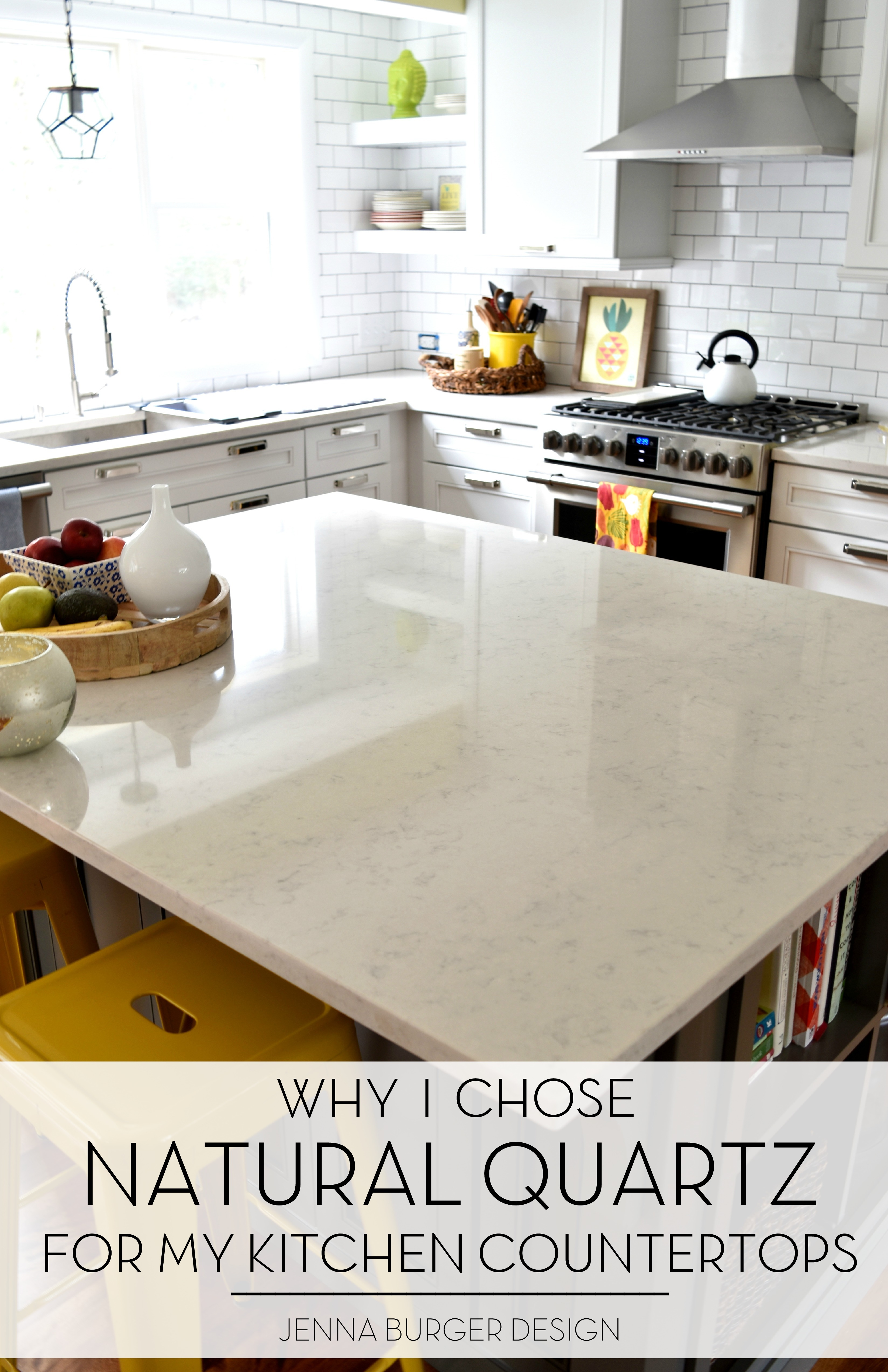 Natural Quartz Countertops In The Kitchen Was A Great Choice! Itu0027s Durable,  Maintenance Free