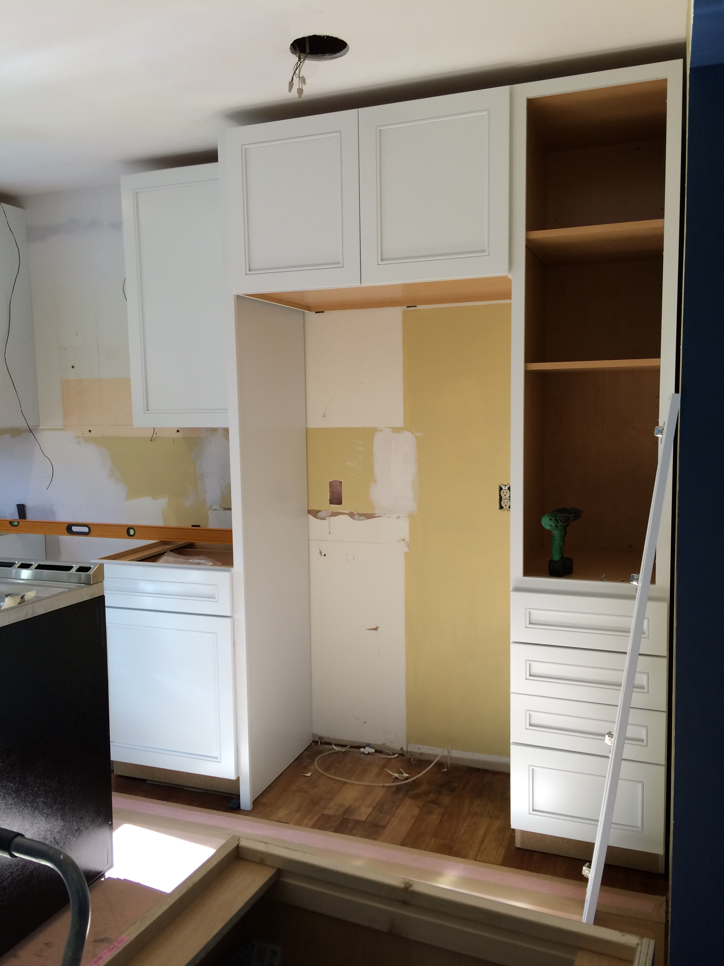 installation help cabinets tos install steady to spaces and how will bathroom kitchen diy step rooms jack cabinet