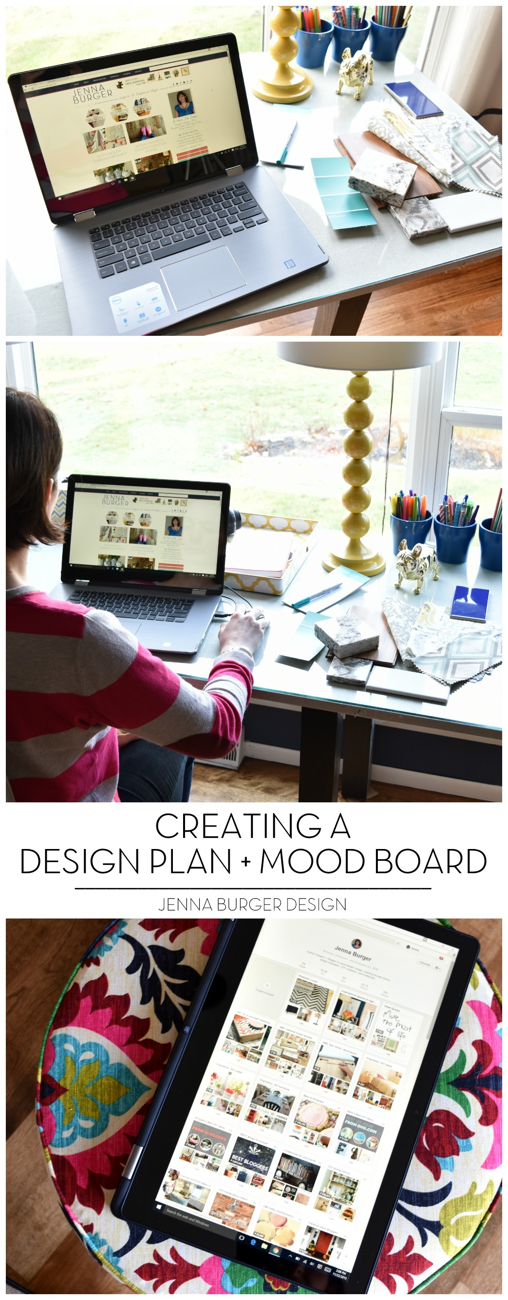 Creating a Design Plan + Mood Board