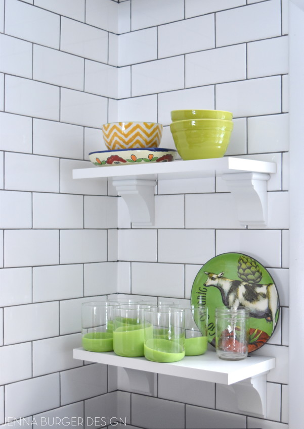 Subway Tile: There are many styles + colors. How do you choose the right subway tile for the project? Here are helpful tips that will point you in the right direction on the process of choosing a tile + check out the before and after of the tile installation of this kitchen remodel. www.JennaBurger.com