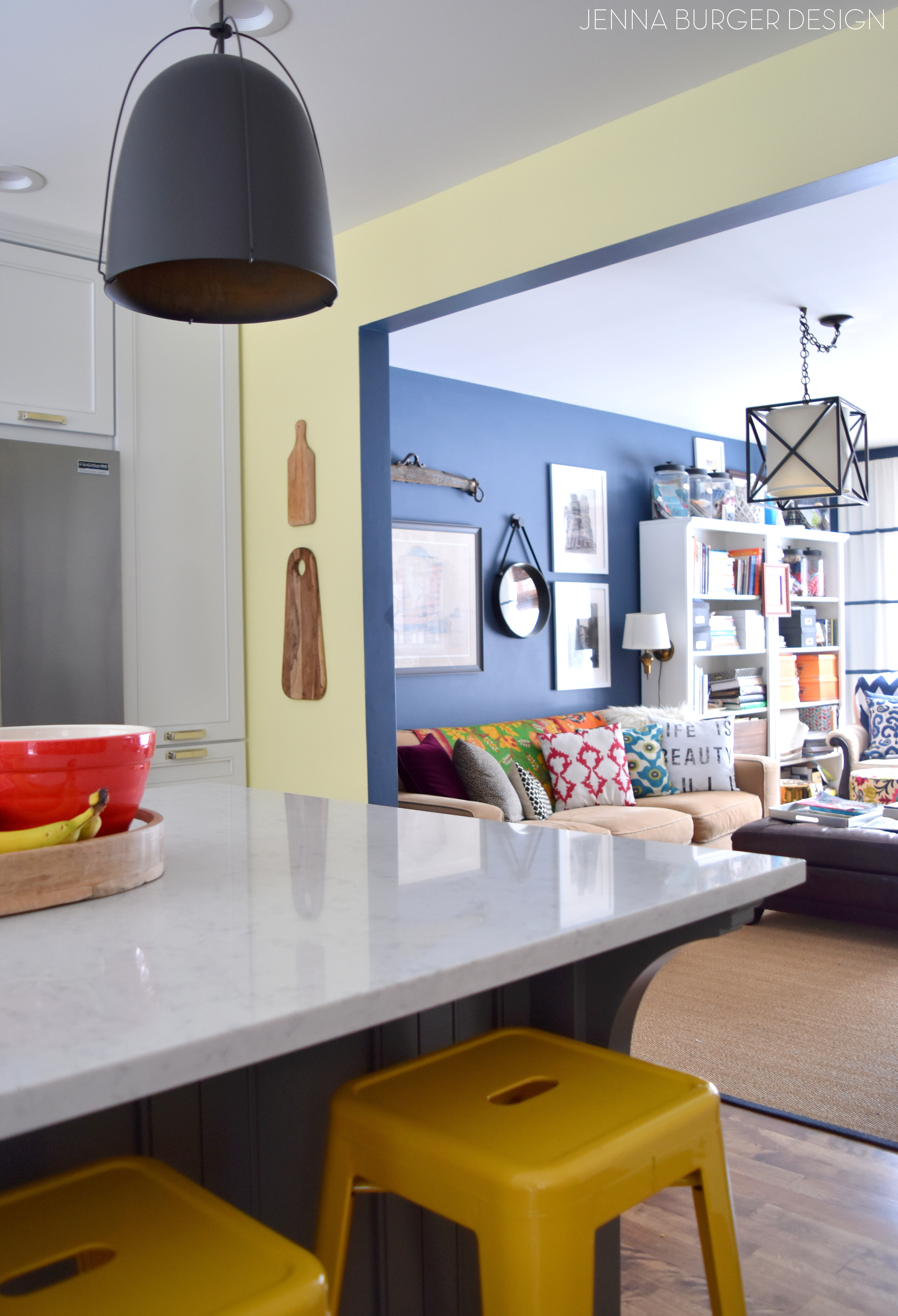 Kitchen Renovation Choosing A Paint Color For An Open Concept Floor Plan Adding Accents