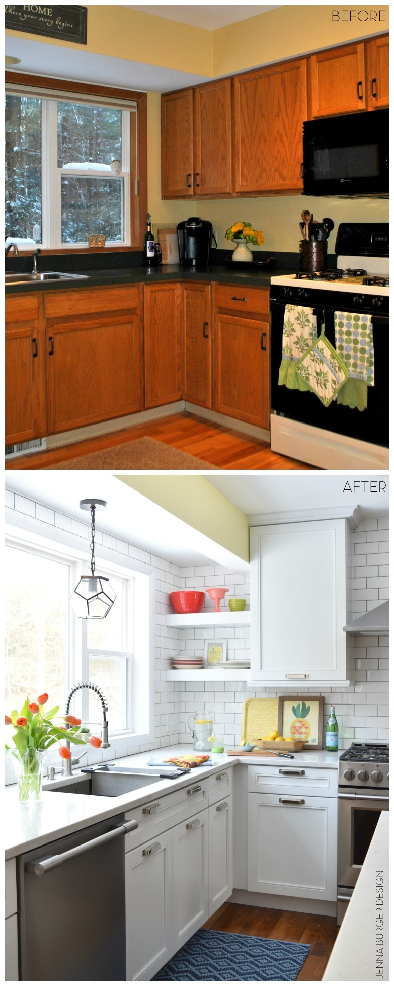 Kitchen Remodel Gray Cabinets Kitchen Renovation Reveal  Resources  Jenna Burger