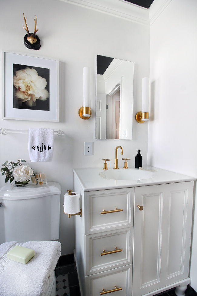Beautiful Brass In The Bathroom Is BACK! From Vintage To Modern, Brass Has Been Given