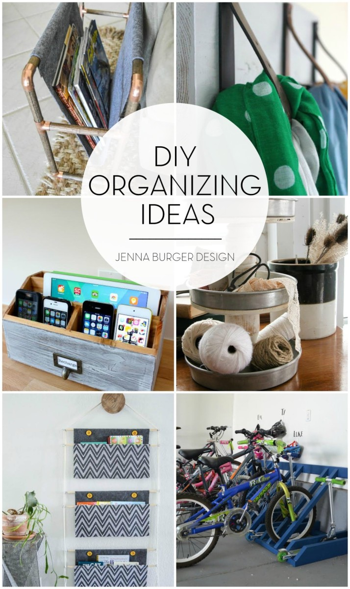 Diy organizing ideas jenna burger for Room decorating ideas do it yourself