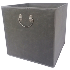 Lowe's Faux Leather Bin